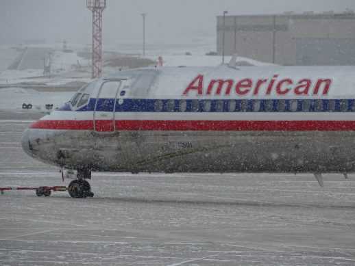 American Airlines Boeing aircraft grounded